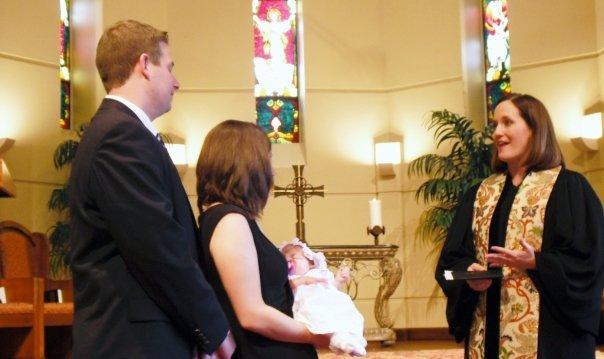 Baptizing Libby